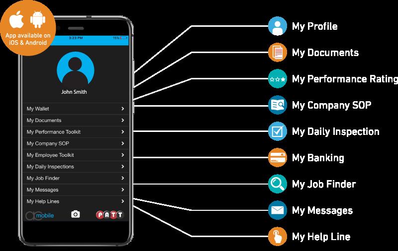 P A T T  Application – App Cloud Mobile